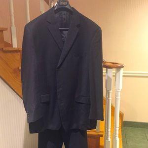 ⬇️price dropped Men's Chaps black pinstriped suit